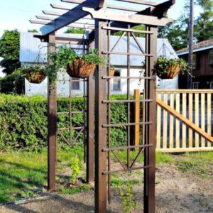 Пергола садовая 2