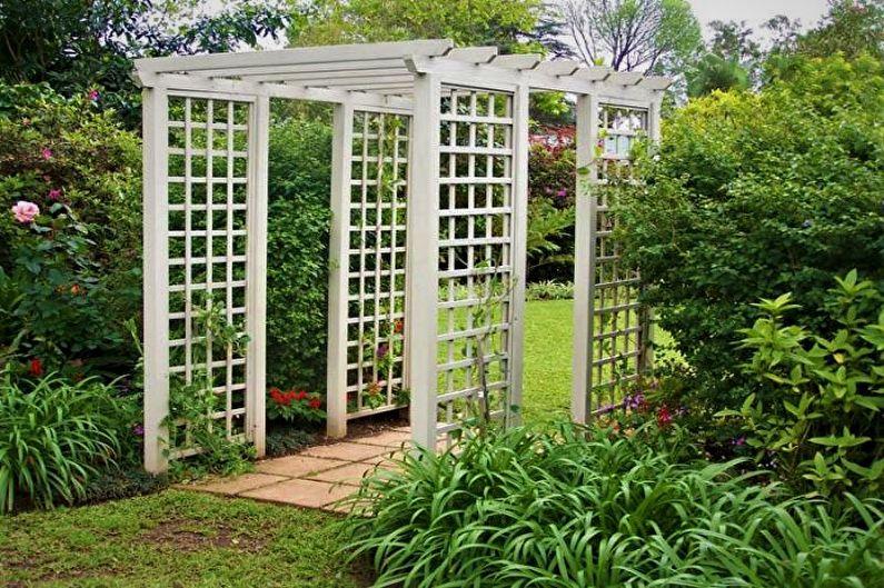 Пергола садовая 3